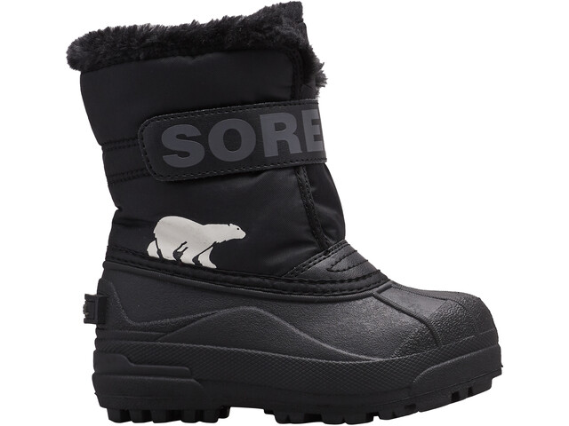 Sorel Snow Commander Botas Niños, black/charcoal